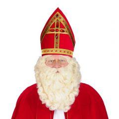 Baard en pruik Sinterklaas Superstar
