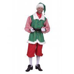 Kostuum kerstelf voor mannen huren