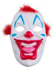 Plastic Clownsmasker