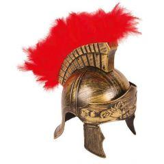 Romeinse Helm Met Pluimen