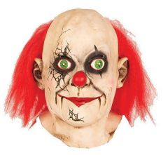 Masker gebroken clown