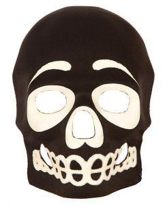 Masker doodshoofd Glow in the dark