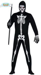 Kostuum Skelet voor heren kopen