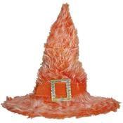 Heksenhoed In Oranje Pluche