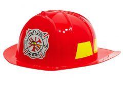 Helm Brandweer Rood voor Kinderen