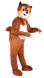 Mascotte Eekhoorn Huren