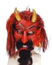 Masker Duivel Met Baard