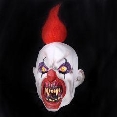 Masker Horrorclown Met Rood Haar