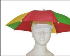 Parapluhoed Rood Geel Groen