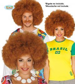 Pruik Afro Ros