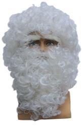 Pruik En Baard Kerstman