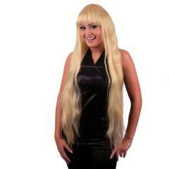 Pruik Extra Lang Long Elisa Blond