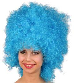 Pruik Hoog Blauw