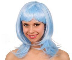 Pruik Katia Lichtblauw