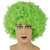 Pruik Krullenbol Extra Groen