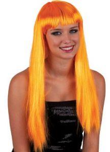 Pruik Pretty Pony Oranje