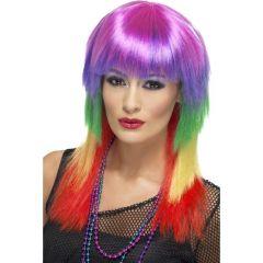 Pruik Rainbow Rocker