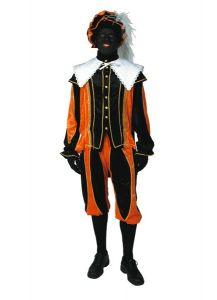 Luxe kostuum voor zwarte piet huren