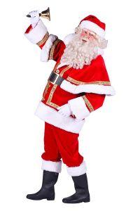 Kerstman Polyester deluxe kopen