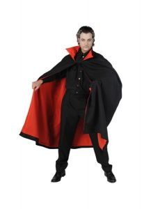 Dracula cape met kraag kopen